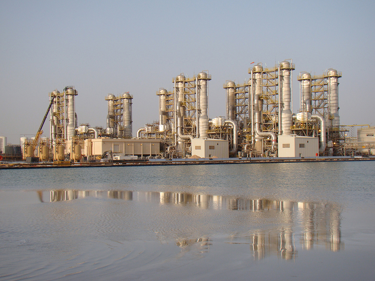 Upstream Oil and Gas Water Treatment Plant