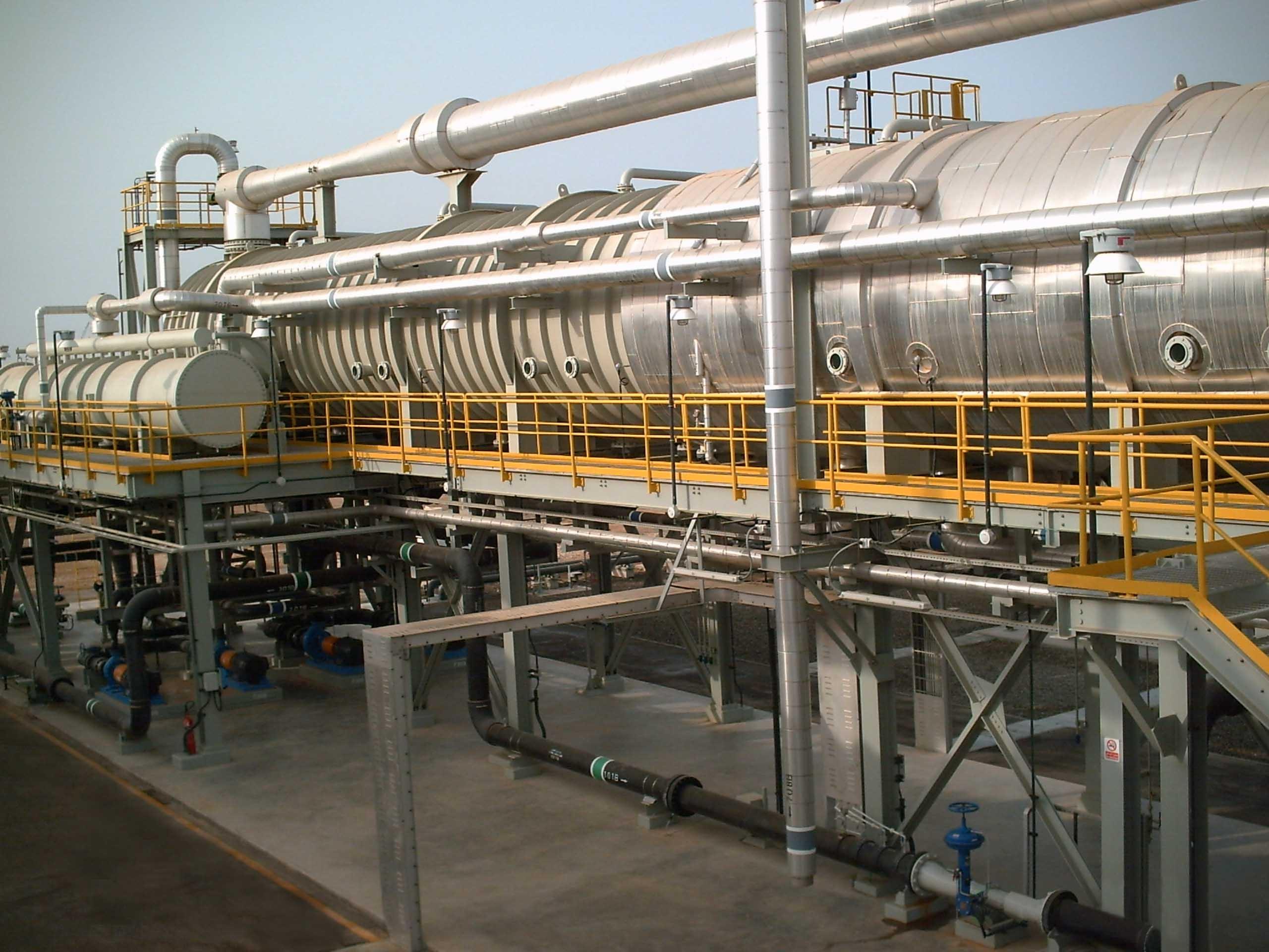Seawater Desalination at Rabigh Refinery